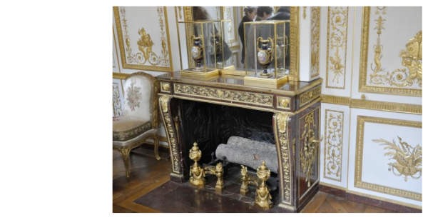 Premier étage - Aile centrale - Appartement intérieur du roi - 22 Cabinet de la garde robe Louis XVI