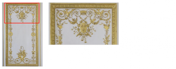 Premier étage - Aile centrale - Appartement intérieur du roi - 22 Cabinet de la garde robe Louis XVI.