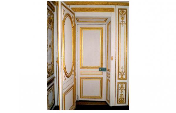 Premier étage - Aile centrale - Appartement intérieur du roi - 22 C Cabinet doré
