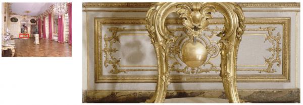 Premier étage - Aile centrale - Appartement intérieur du roi - 24 Cabinet de la pendule