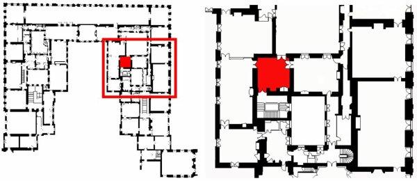 Premier étage - Aile centrale - Appartement intérieur du roi - 25 Antichambre des chiens