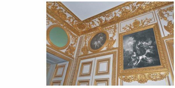 Premier étage - Aile centrale - Appartement intérieur du roi - 25 Antichambre des chiens.