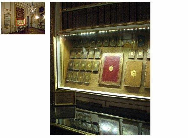 Premier étage - Aile centrale - Appartement intérieur du roi - 28 Arrière cabinet ou cabinet des dépêches.