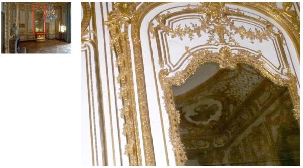 Premier étage - Aile centrale - Appartement intérieur du roi - 29 Cabinet de la vaiselle d'or.