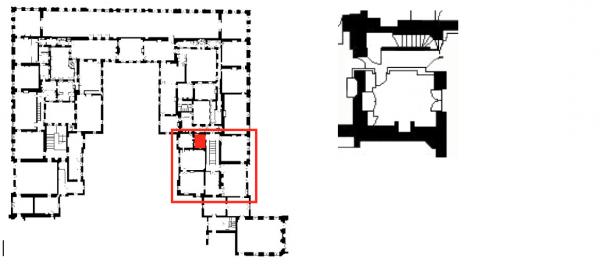 Premier étage - Aile centrale - Appartement intérieur du roi - 30 Cabinet des bains dit cabinet de la cassette