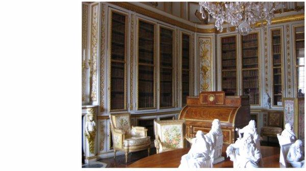 Premier étage - Aile centrale - Appartement intérieur du roi - 31 Bibliothèque Louis XVI