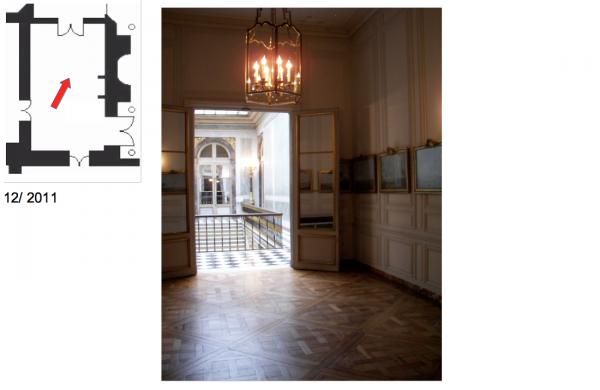 Premier étage - Aile centrale - Appartement intérieur du roi - 34 Salle de billard