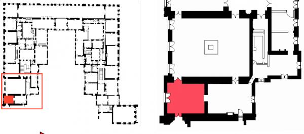 Premier étage - Aile centrale - Divers - 54 Salle du pape