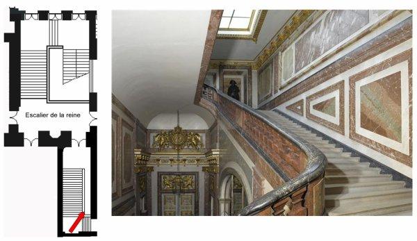 Premier Etage Aile Centrale Escaliers Escalier Attique Chimay