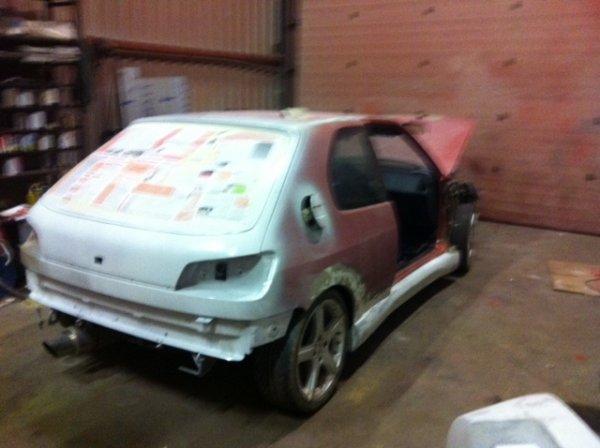 Test de l 39 appr t la pr paration de la 306 show car for Garage opel orthez