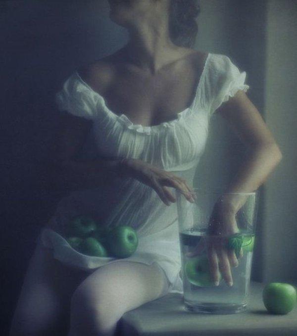 """les pommes vertes sont rares!!!""""entre ttoi et moi"""""""