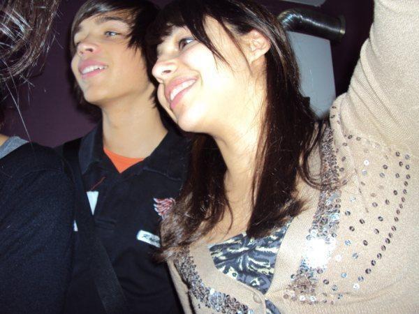 Avec ma cousine   :')