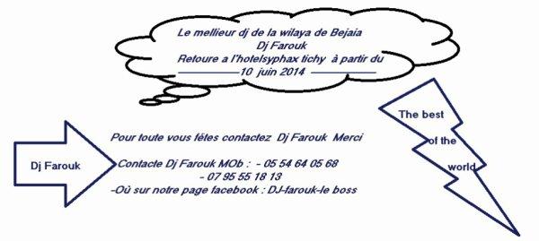 Dj farouk +2135 54 64 05 68