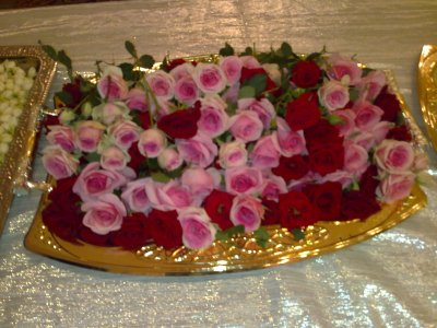 THEME ROSE INDIEN