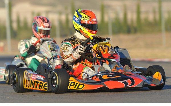 Brandon Maisano en F3 en 2011… et son frère en kart !