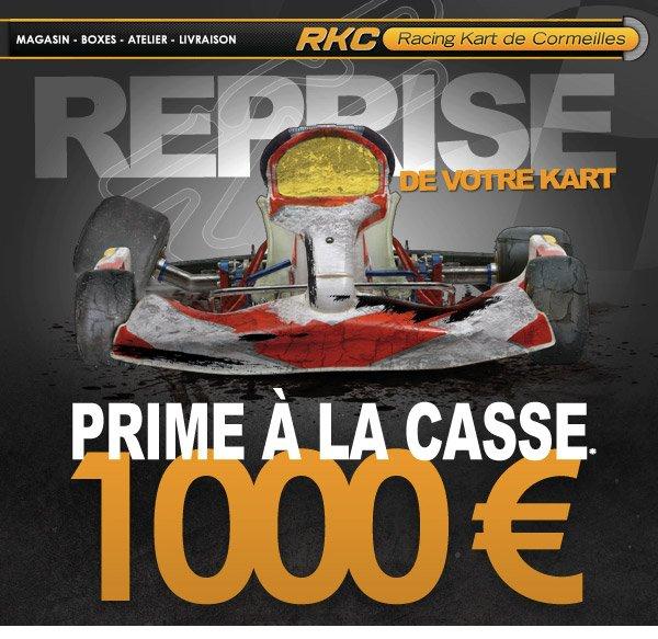 La prime à la casse arrive en ...Kart chez RKC!