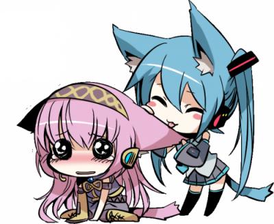 Miku Hatsune x Luka Megurine