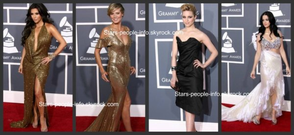 Les plus belle robe des Grammy awards 2011