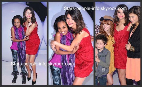 Selena était présente au disney kids and family Upfront organisé par disney à New York le 16 mars 2011