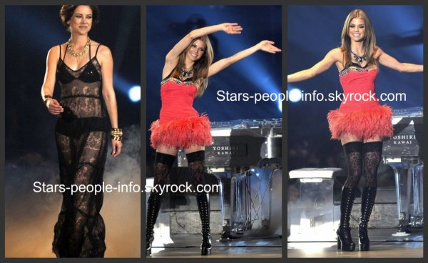 AnnaLynne Mccord, Shenae Grimes & Jessica Stroup au Asia Girls Explosion à Tokyo pour promouvoir leur série 90210 le 6 mars 2011