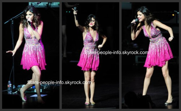 Le dimanche 20 mars 2011  : Selena Gomez Concert for Hope