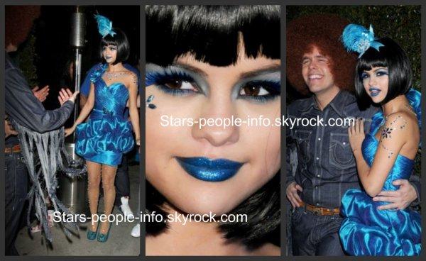 Selena gomez Perez Hilton Blue ball birthday celebration + Selena gomez microsoft store opening concert