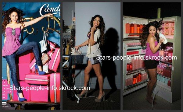 Nouveau photoshoot de Vanessa Hudgens pour Candies