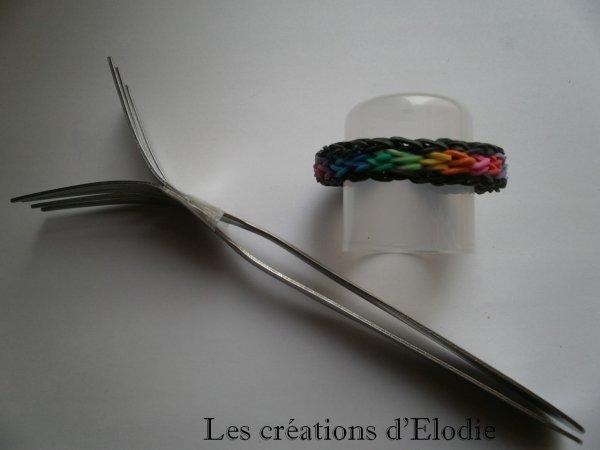 Bracelets élastiques avec fourchettes