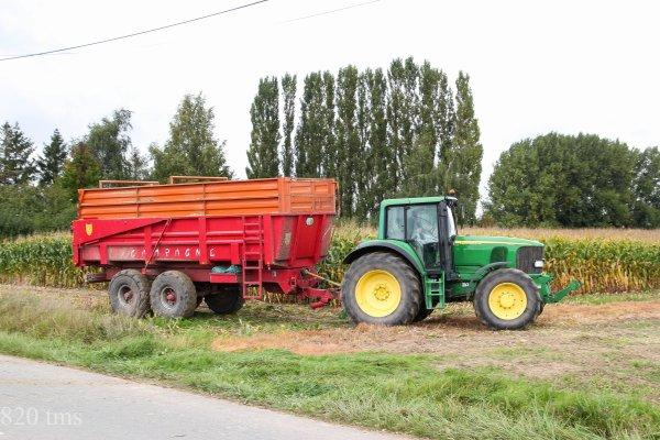 Maïs 2013 chantier n°6