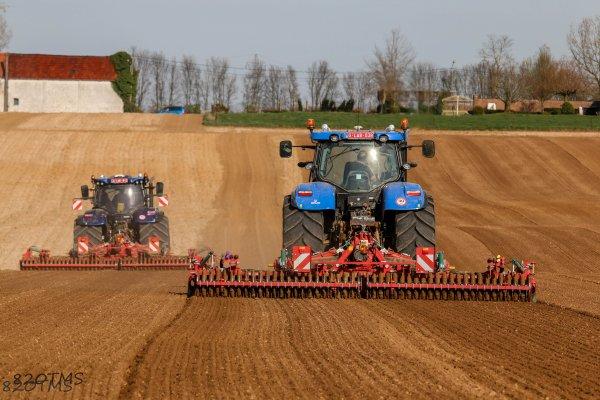 Préparation des terres 2017