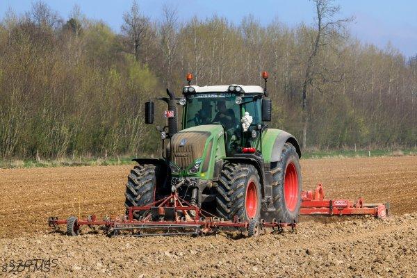 Préparation des terres à betteraves