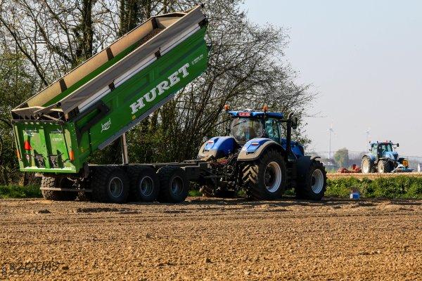 Plantation de pommes de terre 2017