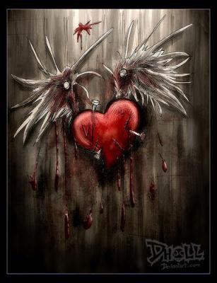 coeur meurtri