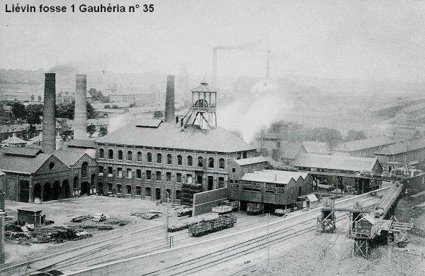 LIÉVIN 14 Janvier 1885