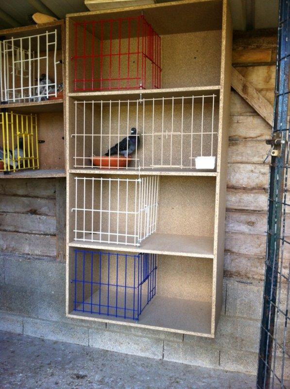 Voilà mon nouveaux casier car je vais refaire mon pigeonnier a neuf