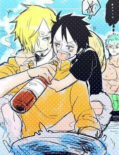 Luffy a souaffe