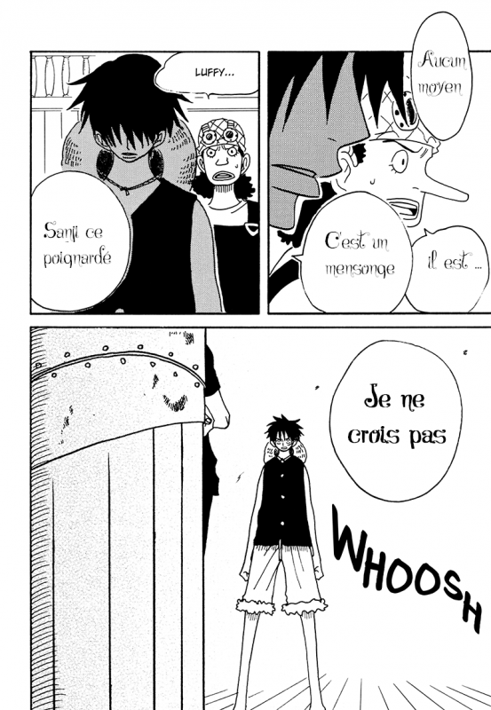Hisame no Yaiba Chapitre 1 p5