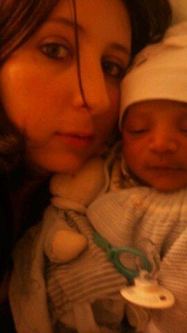 Notre bb morgan est née le 9 octobre a 17h36