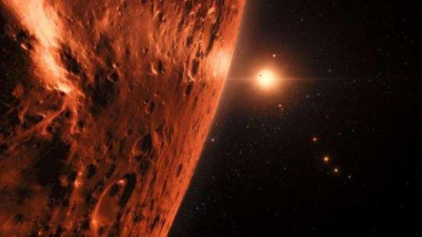 Une équipe internationale d'astronomes, dont font partie l'Université de Liège et l'Université de Genève, s'est servie du télescope spatial Hubble de la NASA et de l'ESA pour évaluer s'il pouvait y avoir de l'eau sur les sept planètes de taille équivalente à la Terre qui gravitent autour de l'étoile naine TRAPPIST-1. Les résultats suggèrent que les planètes les plus éloignées du système abriteraient encore d'importantes quantités d'eau, notamment les trois planètes situées dans la zone habitable de l'étoile. Ces premières observations, publiées aujourd'hui dans la revue The Astronomical Journal, augmentent la possibilité de découvrir de la vie sur celles-ci.
