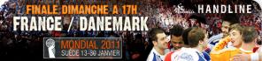Finale 2011 du championnat du Monde France Danemark