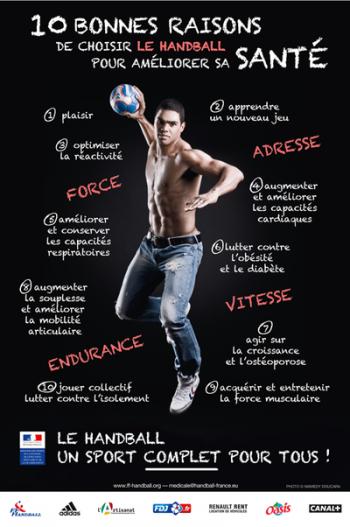 10 bonnes raisons de choisir le handball