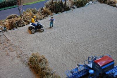 Semis de blé au G.A.E.C
