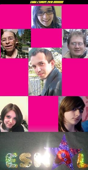 JUILLET 2010 : présentation de la nouvelle équipe de son groupe de ESkal