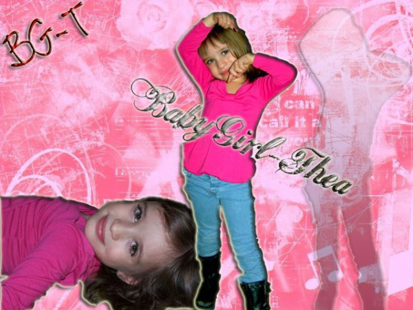 COUP DE COEUR : baby girl théa super star !!!!