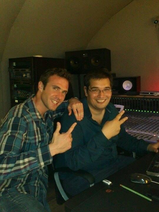 """Préparation du 2e single """"Donne"""" au studio Météore à Châtelet !! Luv"""