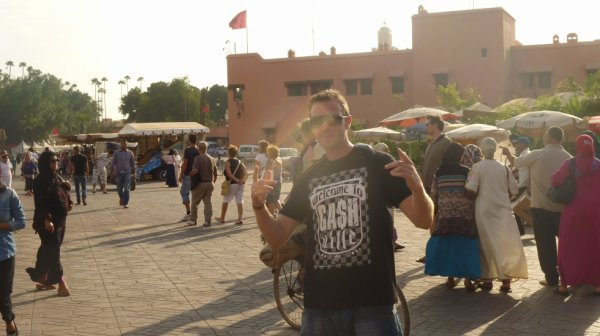 Whita à la Médina de Marrakech
