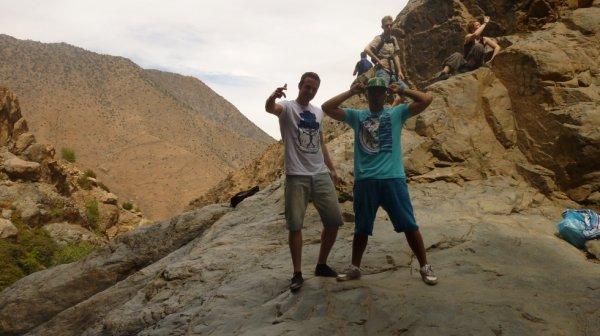 Whita & Diego Coronas en promotion au Maroc (Atlas)