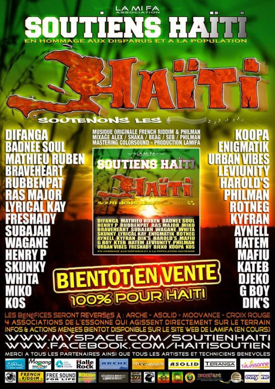 Projet Haïti Soutiens par l'assoce Lamifa 91