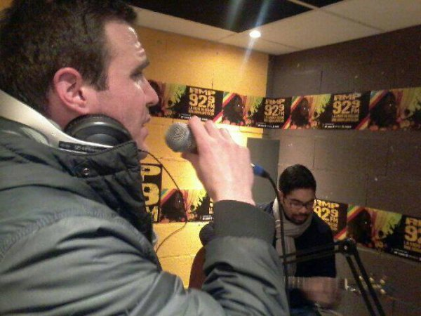 Whita en live radio acoustique !!!