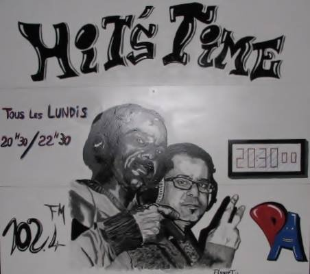Whita sur Hit's Time radio (Evreux)
